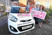 New car is top prize in Stars Appeal Christmas raffle
