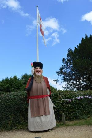 Salisbury Journal: The Alderholt giant awakens for the annual procession through the village